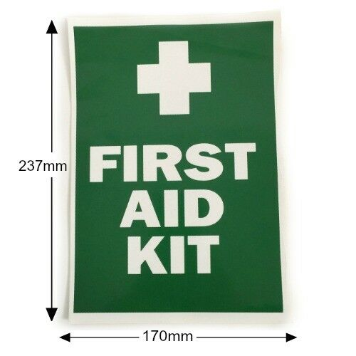 LARGE FIRST AID KIT DECAL