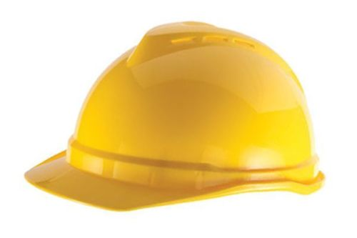 Protective Hard Hat MSA V-Gard Advance 500 Cap Peak Work