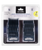 Andis Master Premium Metal Clip Comb Set - Empire Barber Supply