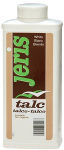Jeris Talc Powder White