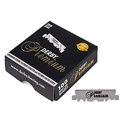 Derby Premium Single Edge Blades (100 CT) - Empire Barber Supply