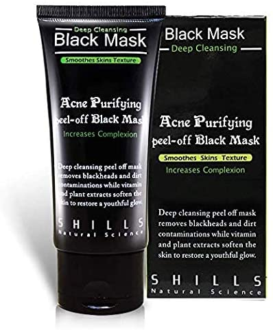 Shills Purifying Black Mask 50ML - Empire Barber Supply
