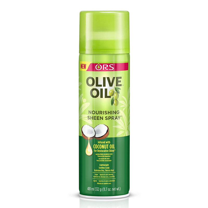 ORS Olive Oil Nourishing Sheen Spray 11.7 oz - Empire Barber Supply