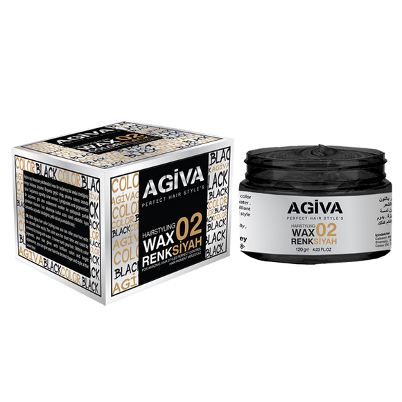 Agiva Color Wax Black 02