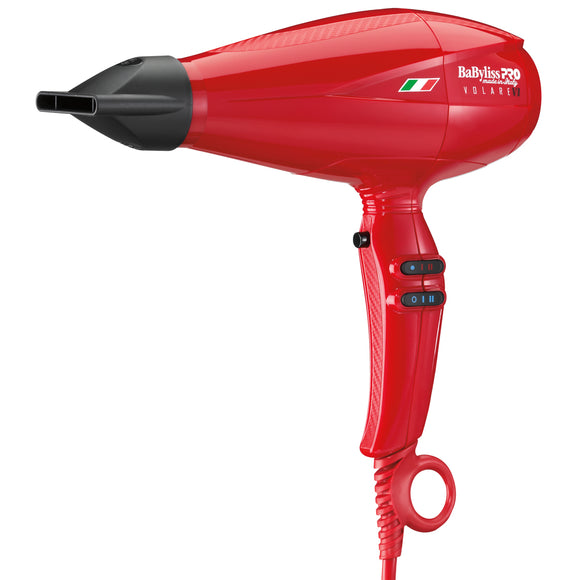 BabylissPro Hair Dryer Volare Red