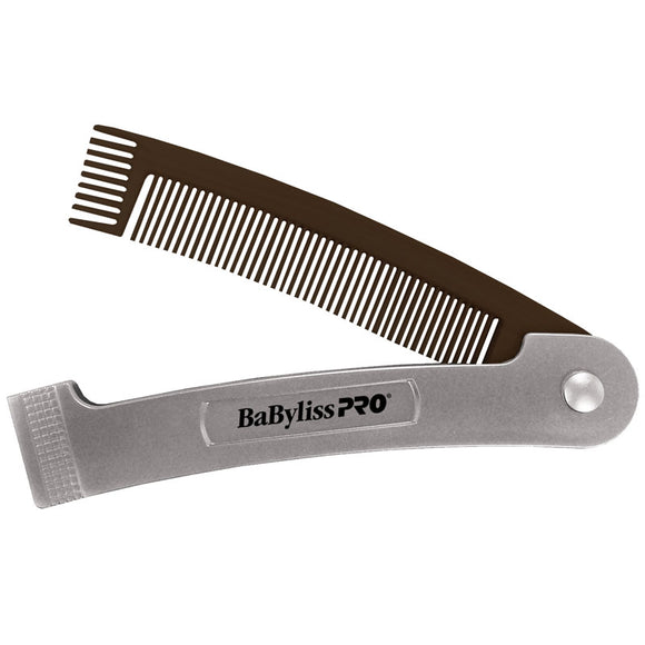 BabylissPro 2-IN-1 Folding Comb
