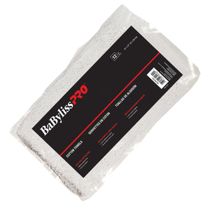 BabylissPro White Towels (12 Pack)