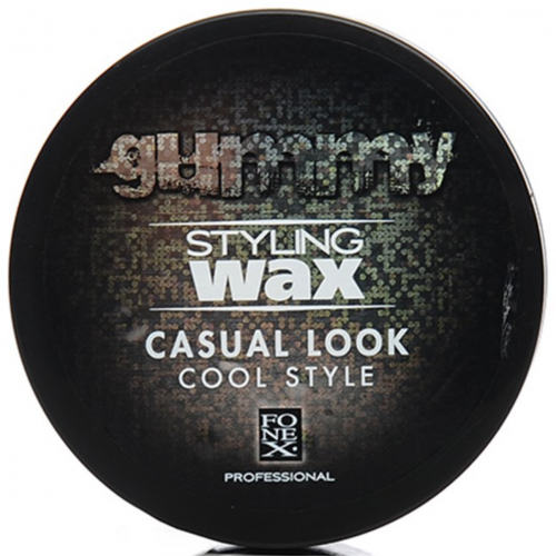Gummy Hair Wax (Casual Look) - Empire Barber Supply