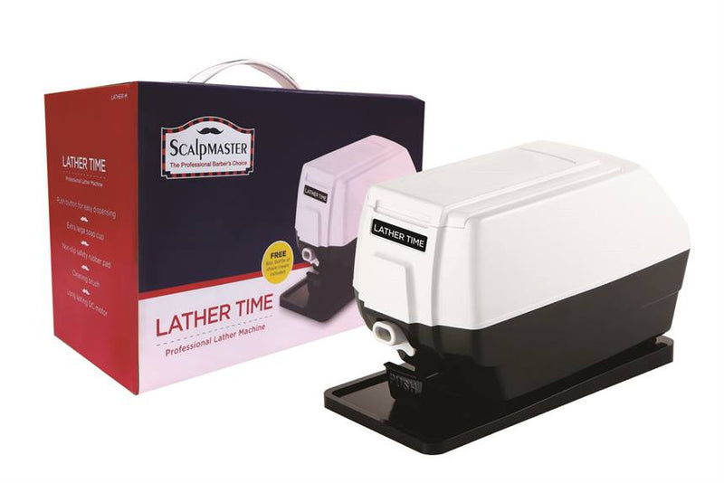 Scalpmaster Lather Time Lather Machine - Empire Barber Supply