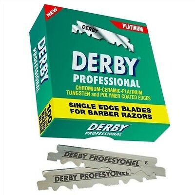 Derby Single Edge Blades (100 CT) - Empire Barber Supply