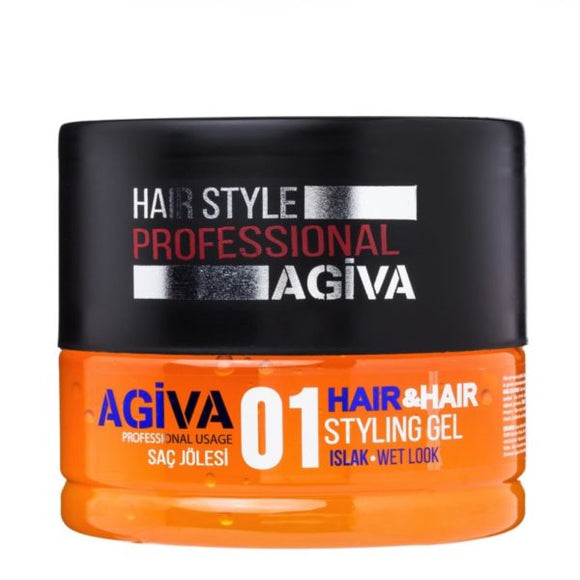 Agiva Hair Gel 01 - Empire Barber Supply