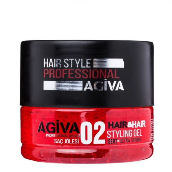Agiva Hair Gel 02 - Empire Barber Supply
