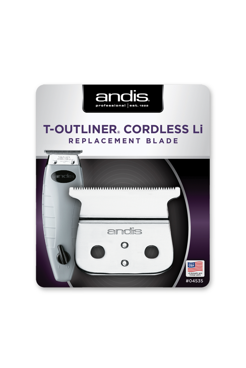 Andis Cordless T-Outliner Replacement Clipper Blade - Empire Barber Supply