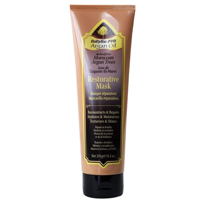 BabylissPro Argan Oil Restorative Mask 8.5 oz.