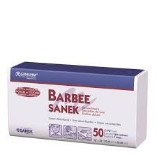Barbee Sanek 3-Ply Towels 50 Pk - Empire Barber Supply