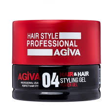 Agiva Hair Gel 04 - Empire Barber Supply