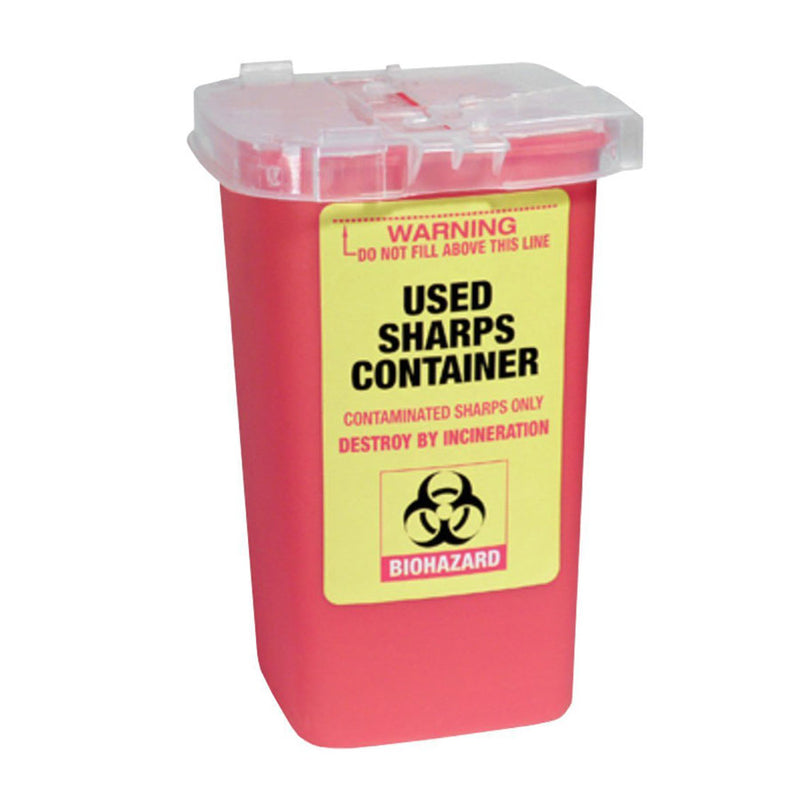 Used Sharps Container - Empire Barber Supply