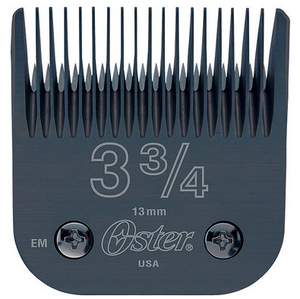 Oster Detachable #3 3/4 Blade (Black)