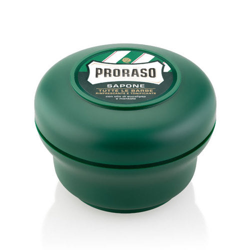 Proraso Shaving Soap Bowl Menthol & Eucalyptus - Empire Barber Supply