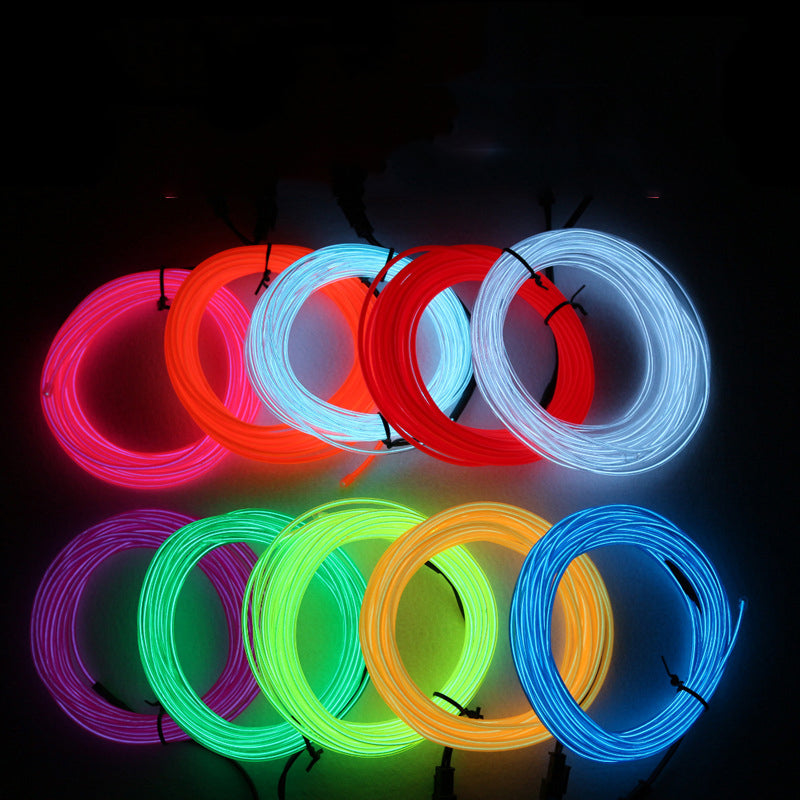 LED Cold Fluorescent Lighting Clothes Stage Show Costume Props