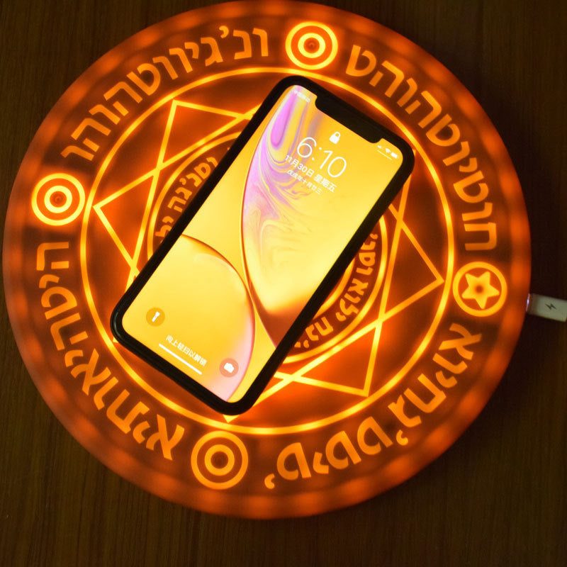 Luminous Fast Charging  Wireless Charger