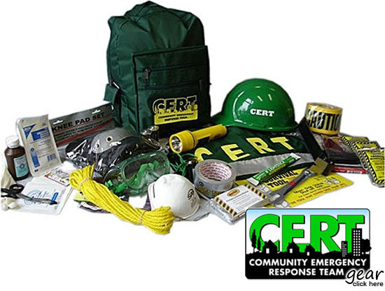 Emergency Supplies for CERT