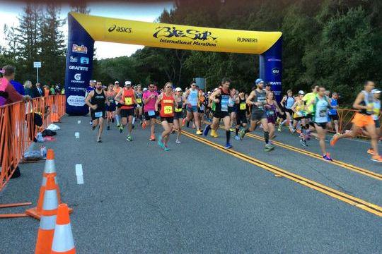 Big Sur International Marathon 2015