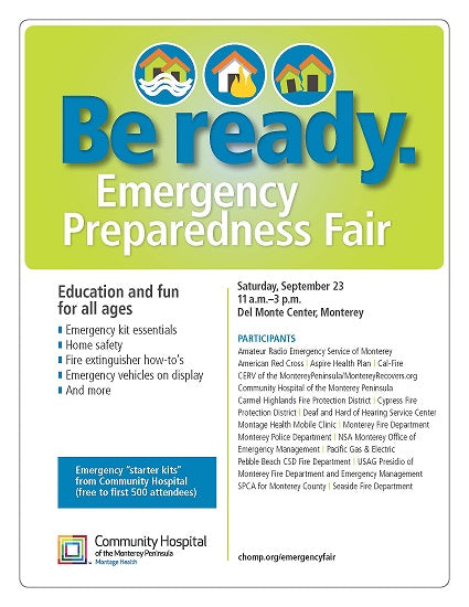 Emergency Preparedness Fair at Del Monte Center, Monterey