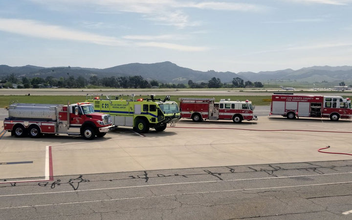 Full-Scale Emergency Drill at Monterey Airport