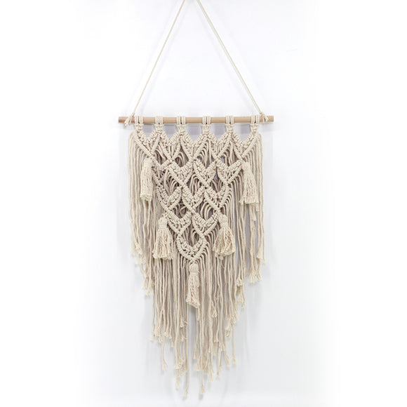 Handmade Wall Hanging Tapestry Macrame Wedding Ceremony Backdrop Wall Art