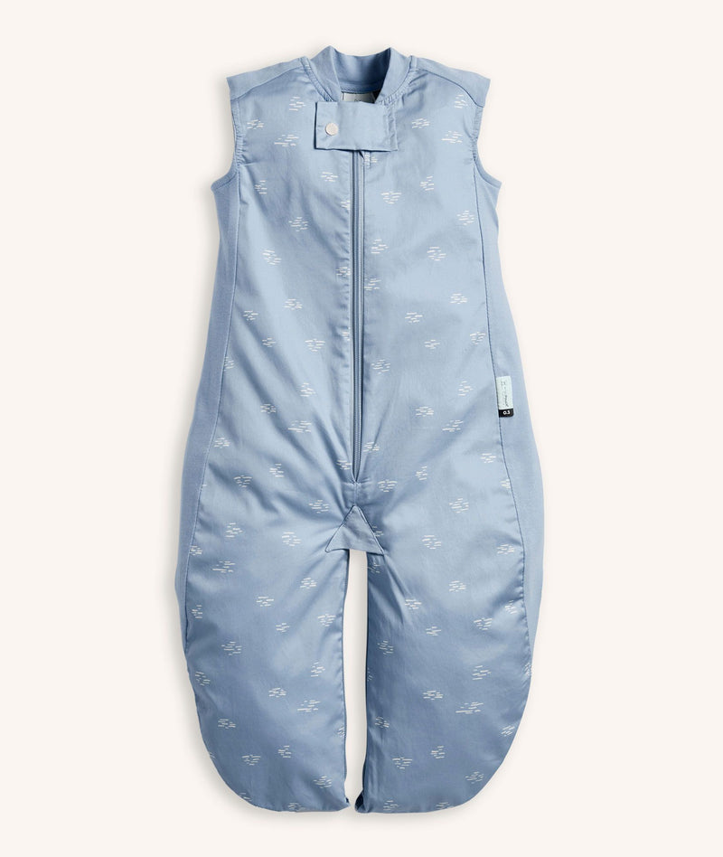 ErgoPouch Sleep Suit Bag .03 Tog Ripple in Blue