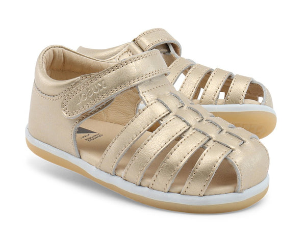 Bobux I-Walk Skip Sandal in gold