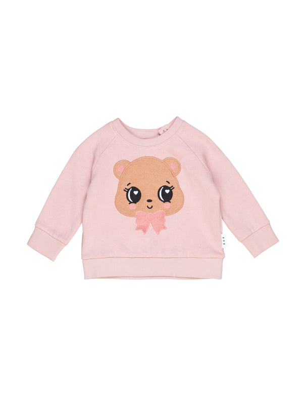 Huxbaby Chipmunk Sweatshirt Rose in pink