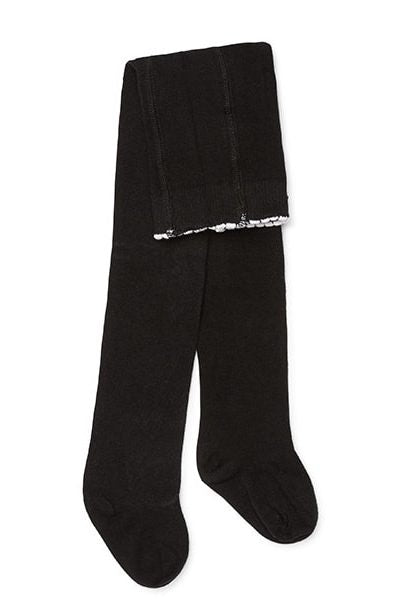 Marquise Knitted Tights  Black