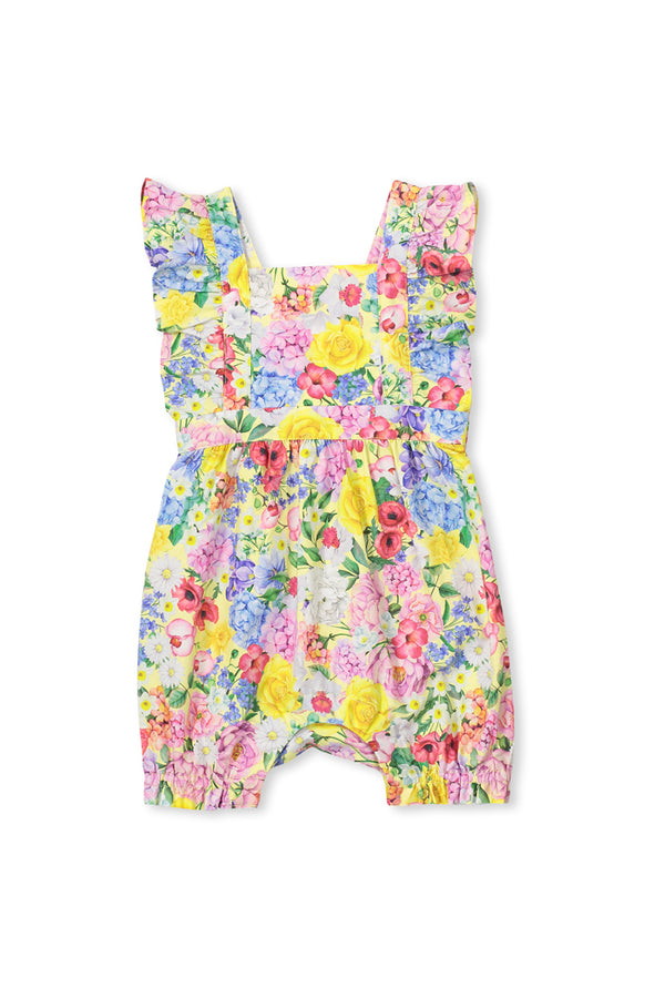 Milky Clothing Summer floral baby playsuit