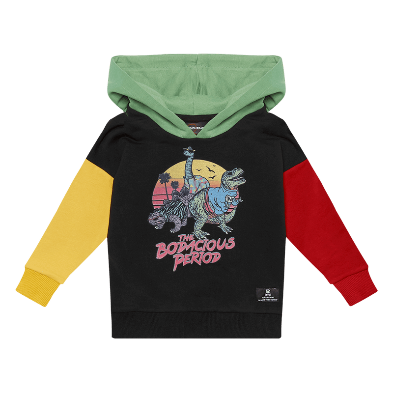 Rock Your Baby Bodacious Baby Hoodie in multi colour
