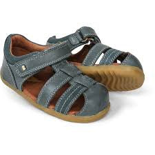 Bobux Step Up Roam Closed Sandal Slate in blue