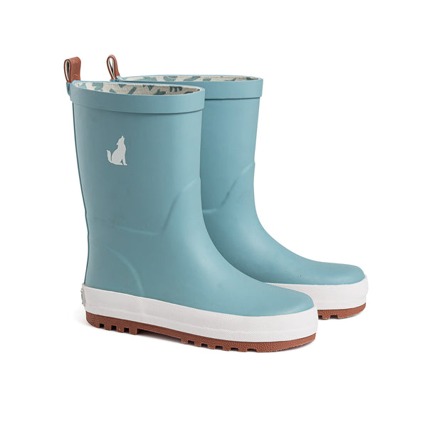 CRYWOLF Rubber Gumboots in Misty blue