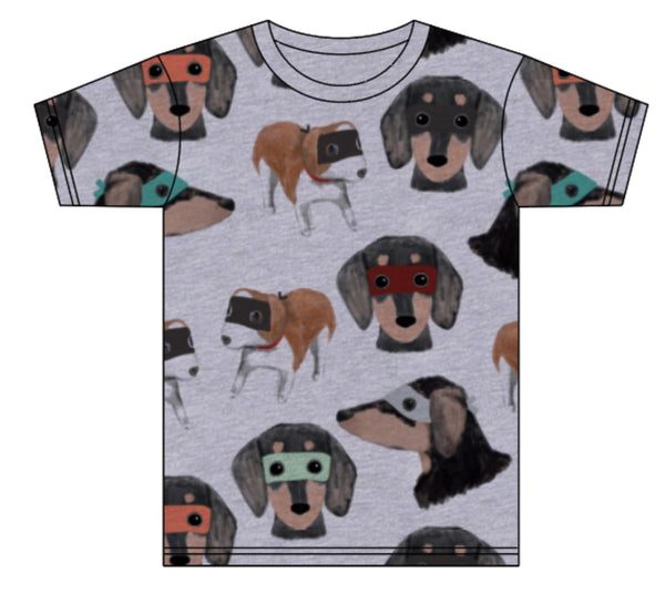 New Design Minti Super dogs tee