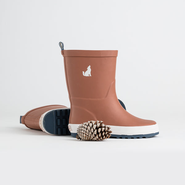 Crywolf Rubber Gumboots in Rust