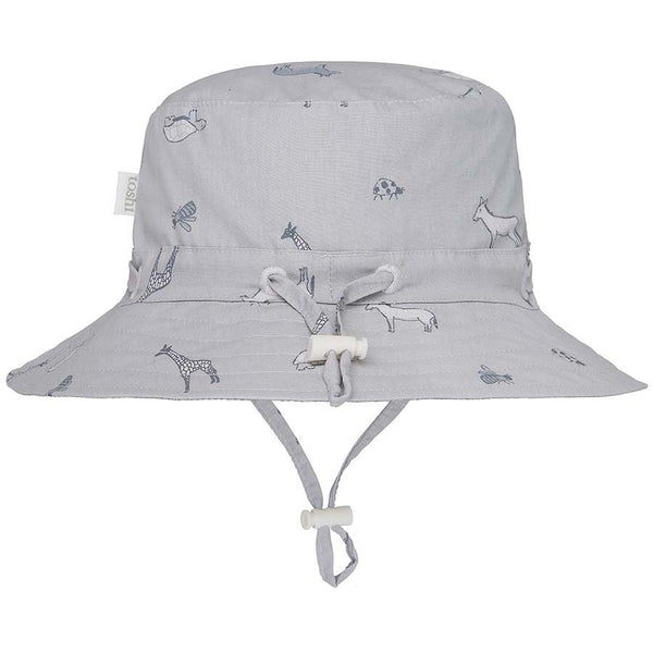 Toshi Sunhat Creatures Hanks Friends in grey