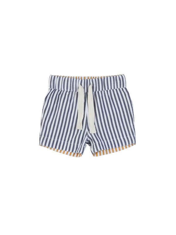 Huxbaby Reversible Chino Short in Navy