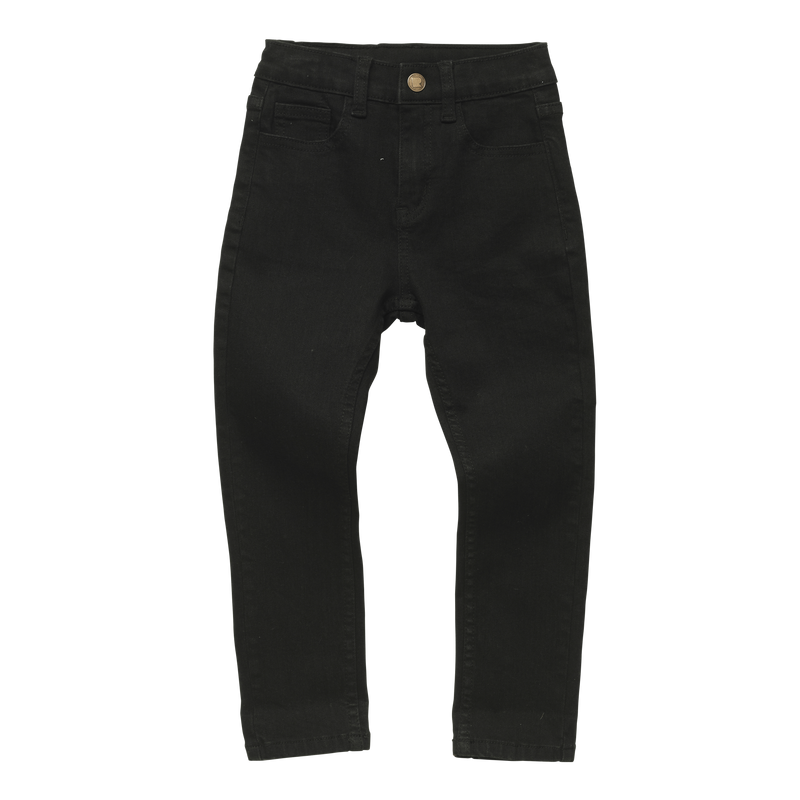 black wash denim pants by rock your baby TBP2054-BW