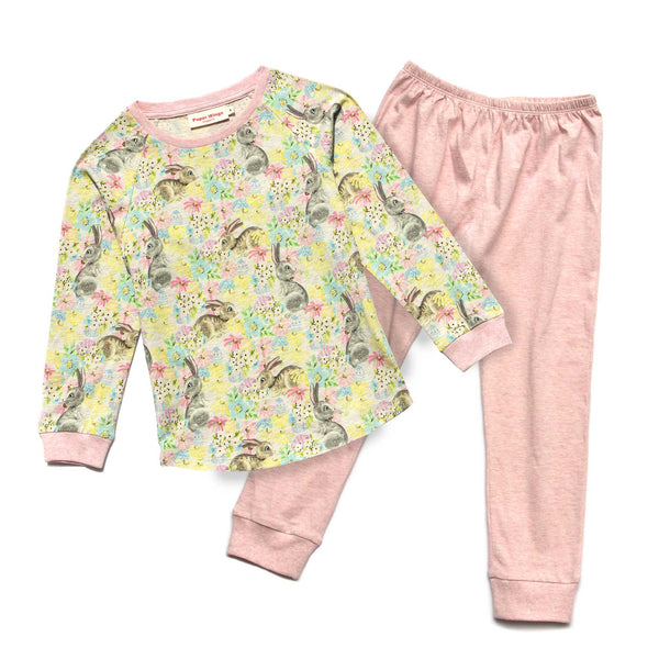 Paper Wings Long Sleeve Girls Pjs Set  Dreaming