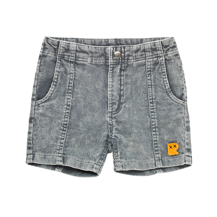Rock Your Baby  Corduroy Shorts  washed charcoal