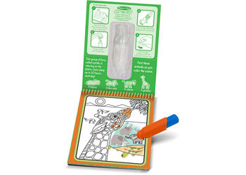 Melissa & Doug - On The Go - Water WOW! - Safari