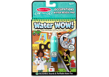 Melissa and Doug - On The Go - Water Wow! - Occupations