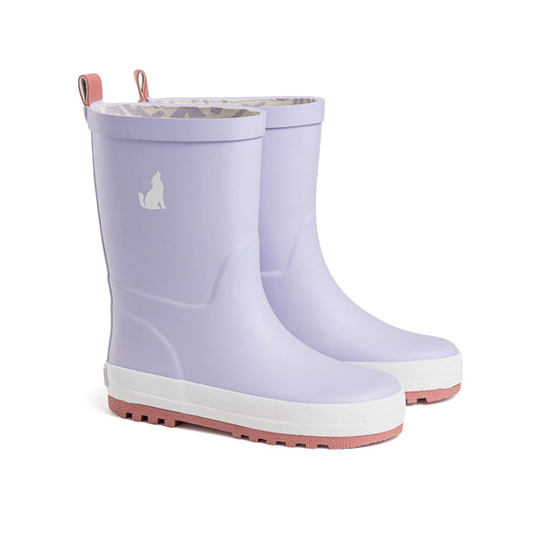 Crywolf Rubber Gumboots in lilac