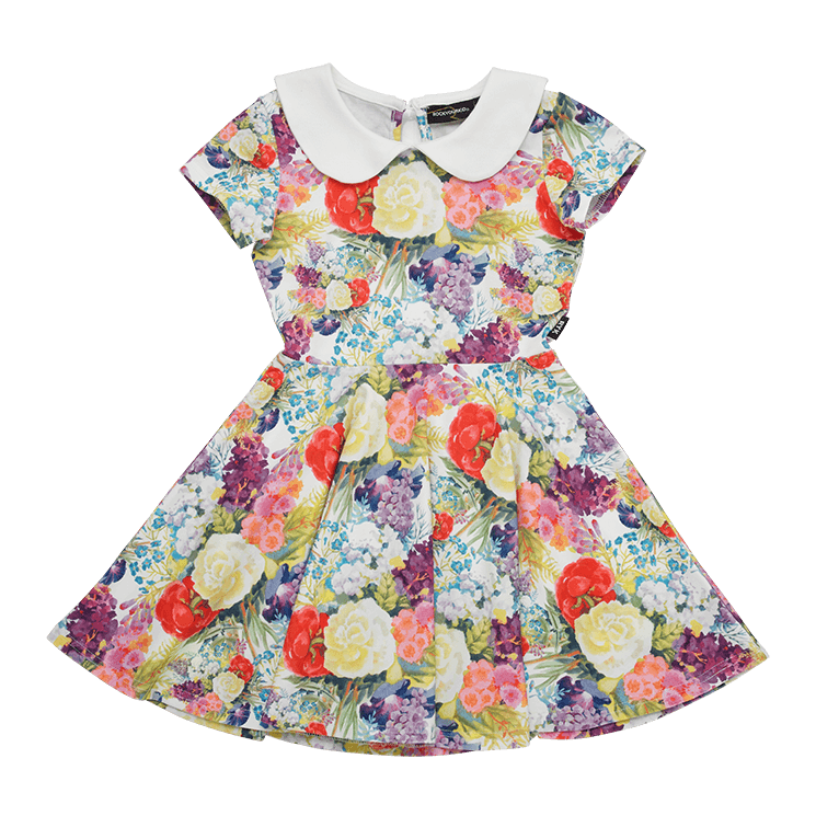 Rock Your Baby Blooming Love Peter Pan Waisted Dress