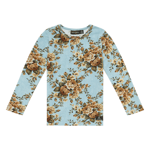 Rock Your Baby Winter Bloom T-Shirt in floral
